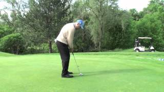 PUTT FOCUS WITH ABANDON SHAWN CLEMENT WISDOM IN GOLF