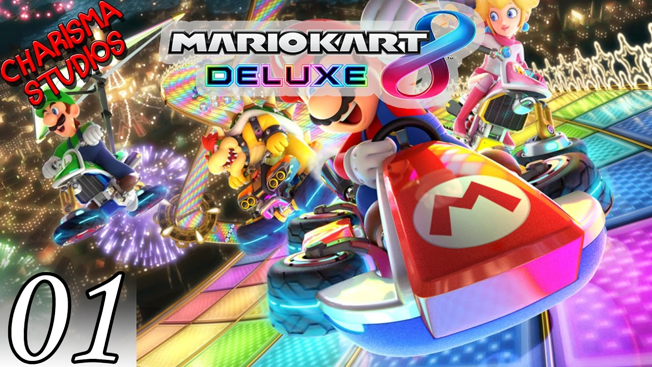 mario kart 8 deluxe grand prix 1 youtube. Black Bedroom Furniture Sets. Home Design Ideas