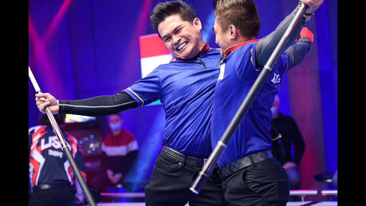Download Day Four | Evening Session Highlights | 2021 World Cup of Pool