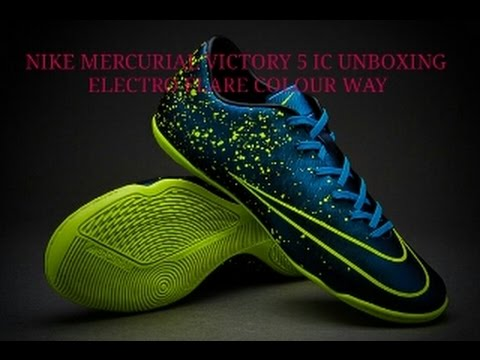 new style 49e4a 26edf Nike Mercurial Victory 5 Ic Unboxing