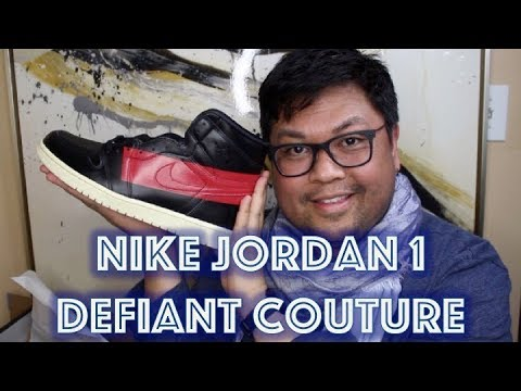 UNBOXING Jordan 1 Retro High OG Defiant Couture Sneaker | DocLUXURY