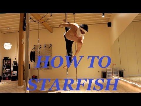 Doctor Ken's Pole Ninja Tutorials: Starfish!!!