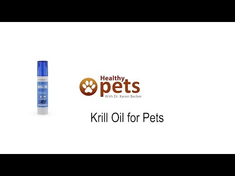 Dr. Becker's Krill Oil For Pets In A Spray Bottle