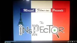 The Inspector: The Great Degaulle Stone Operation Intro From The Pink Panther Show