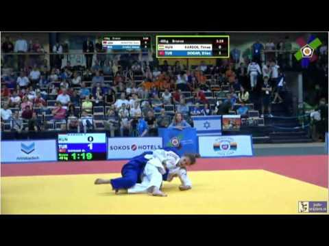 Judo 2016 European Championships Cadets: Kardos (HUN) - Dogan (TUR) [-40kg] bronze