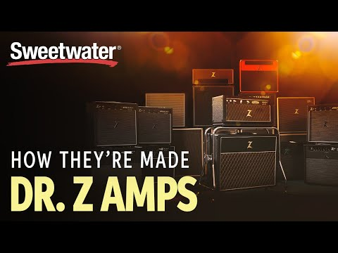 Dr. Z Guitar Amplifiers — How They're Made