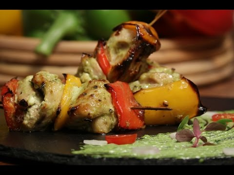 Wasabi Chicken Tikka | Cooking Classy with Chef Afraz | Sanjeev Kapoor Khazana