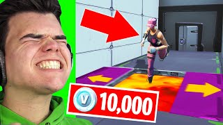 Download FINISH This DEATHRUN To WIN 10,000 V-Bucks! (Fortnite Challenge) Mp3 and Videos