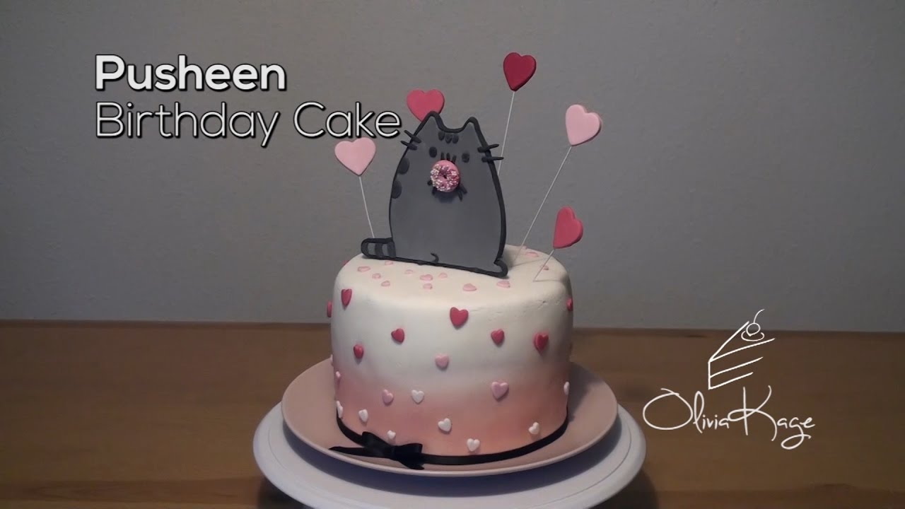 How To Make A Pusheen Cat Cake