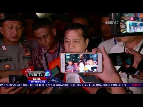 Fenomena Penahanan Setya Novanto, Akhirnya Kenakan Rompi Tahanan Juga - NET10