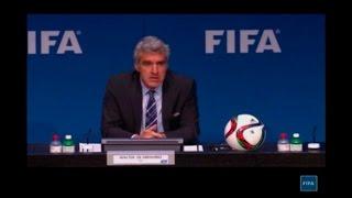 הודעת פיפ''א בהמשך למעצר הבכירים בארגון    צילום FIFA TV רויטרס
