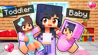 Aphmau Takes Care of her FAMILY In Minecraft!