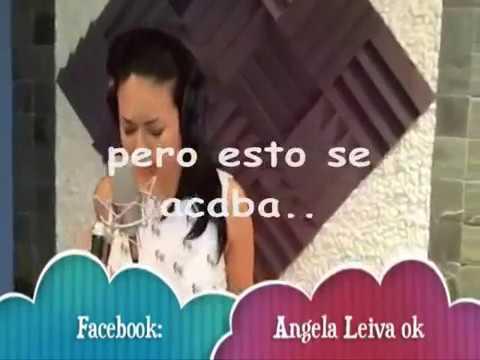 Angela Leiva Fuera De Mi Vida Letra Youtube