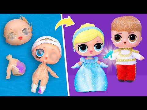 Never Too Old For Dolls! 9 Cinderella LOL Surprise DIYs