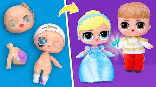 Never Too Old for Dolls! 9 Cinderella LOL Surprise DIYs