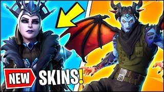*ALL* Fortnite v7.20 SKIN LEAKS!! | DEMON (MALCORE) & ICE QUEEN SKINS, GLIDERS (Fortnite Update)
