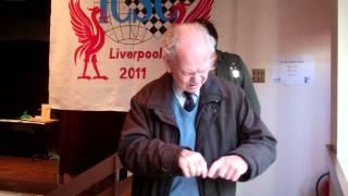 James Bruce, Ex Liverpool Deaf Chess Club , 1953