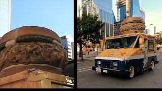 Church's Chicken Sandwich Delivery Truck