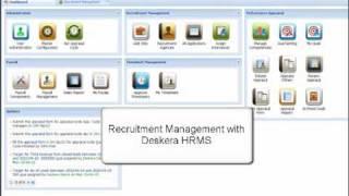 Http://www.deskera.com deskera recruitment module is a comprehensive web based recruiting and talent management solution that streamlines accelerates ent...