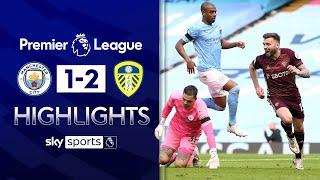 10-man Leeds STUN City with late Dallas goal! | Man City 1-2 Leeds | Premier League Highlights