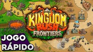Jogo Rápido: Kingdom Rush Frontiers - Gameplay Português Vamos Jogar PT-BR