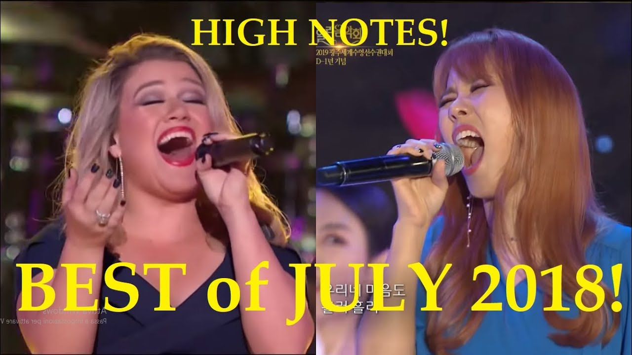 Best Vocals of JULY 2018! (high notes!)