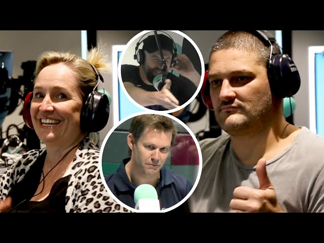 Fifi, Fev & Byron Get HEATED Whilst Getting Their HEARING TESTED!! | Fifi, Fev & Byron
