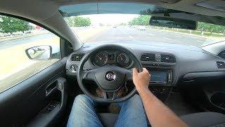 2015 Volkswagen Polo 1.6L POV Test Drive