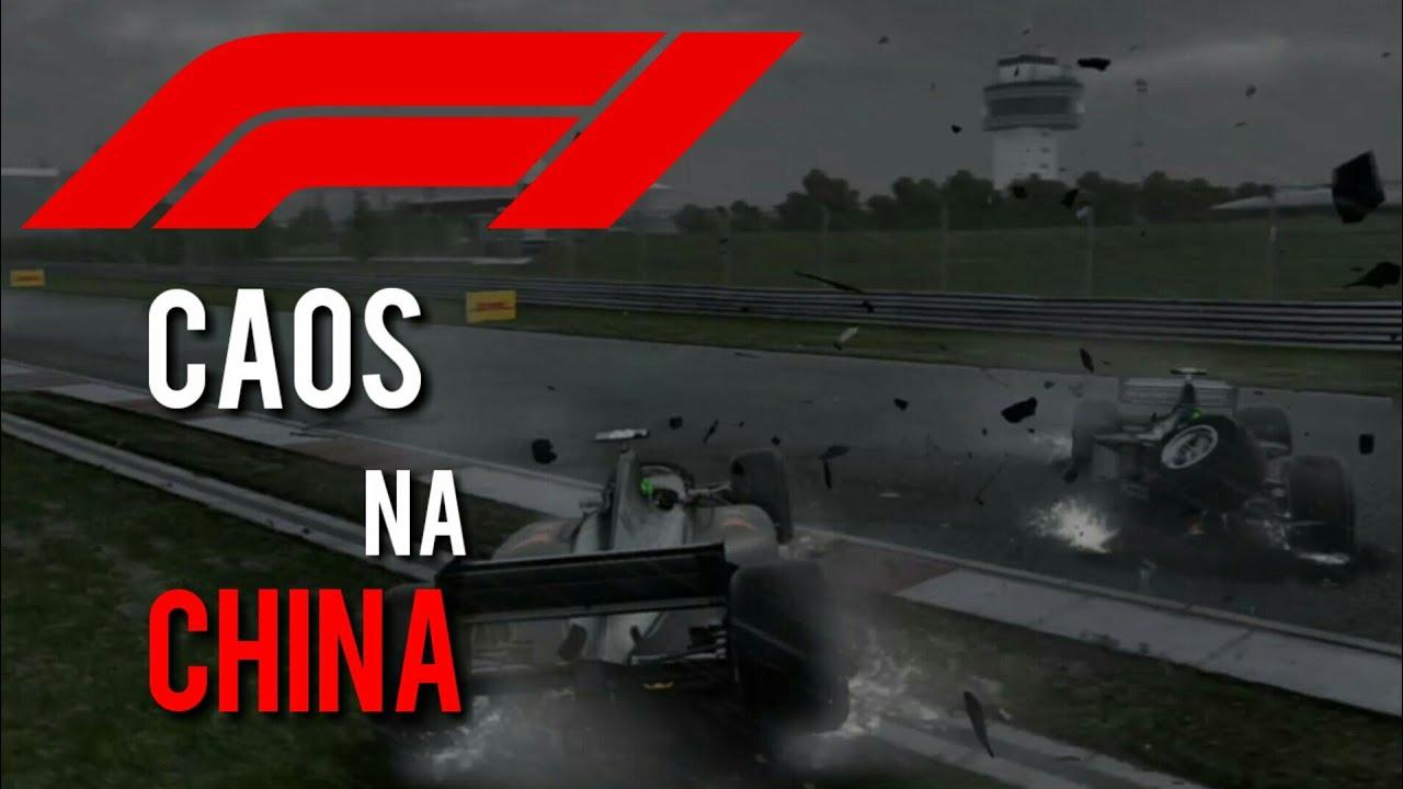 CAOS NA CHINA - F1 2018