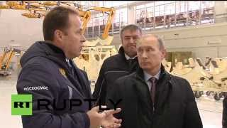 Russia: Putin inspects construction progress at Vostochny Cosmodrome