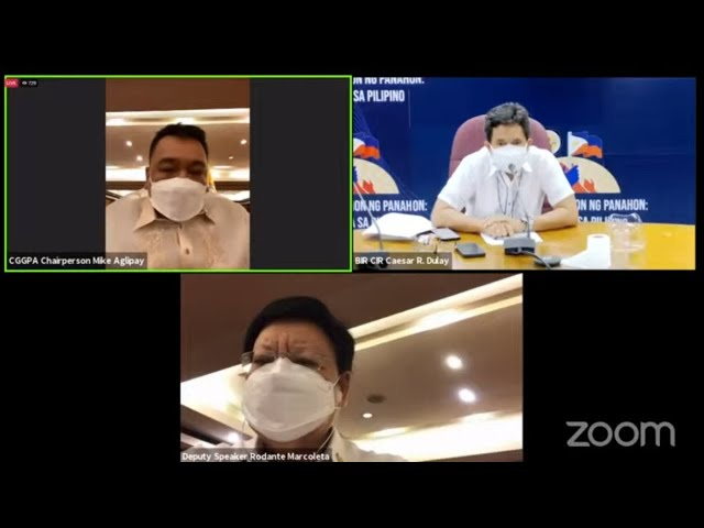 House hearing on 2020 COA annual audit report on DOH