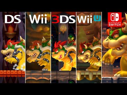Evolution of Final Bosses & Endings in New Super Mario Bros. Games (2006-2019)