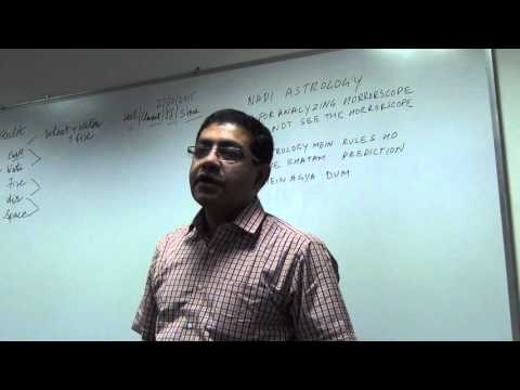 Medical Astrology  Part 1- Lecture in Mumbai