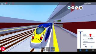 Roblox New MTG Class 374 E320 INTERCITY EXPRESS Isembard Central to Denthrope Part 1