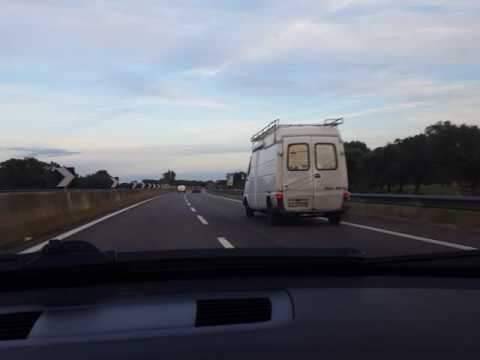 """Mino De Santis on the road """"Carmelo il Carlino"""""""