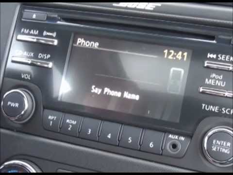 How to Pair your Phone with the Bluetooth System in a 2012 Altima