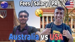 Student Life: Australia vs USA! Scholarships, Salary, PR