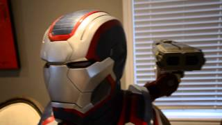 IRON PATRIOT LIFE SIZE BUST SIDESHOW COLLECTIBLES IRON MAN