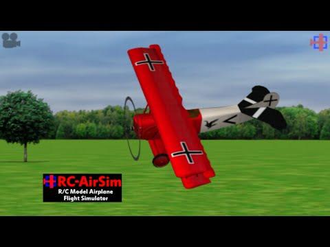 Rc- AirSim- RcModel Plane Sim Gameplay (Android) (1080p)