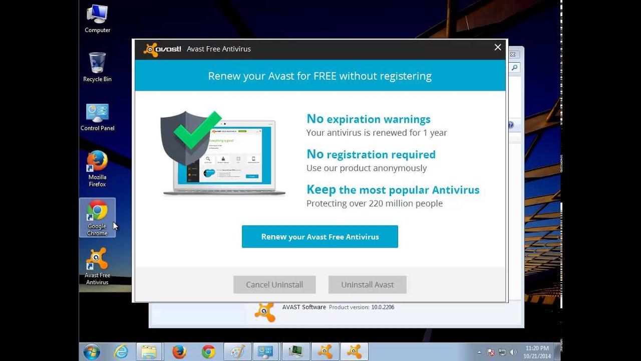 Perfectly remove avast free antivirus 2015 how to do it - Uninstall Avast Free Antivirus 2015 V10 0 2206