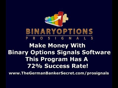 Binary options pro signals software