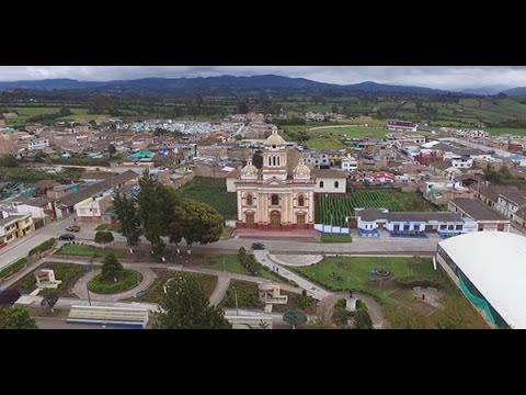 Video del Municipio de Pupiales grabado desde un Drone