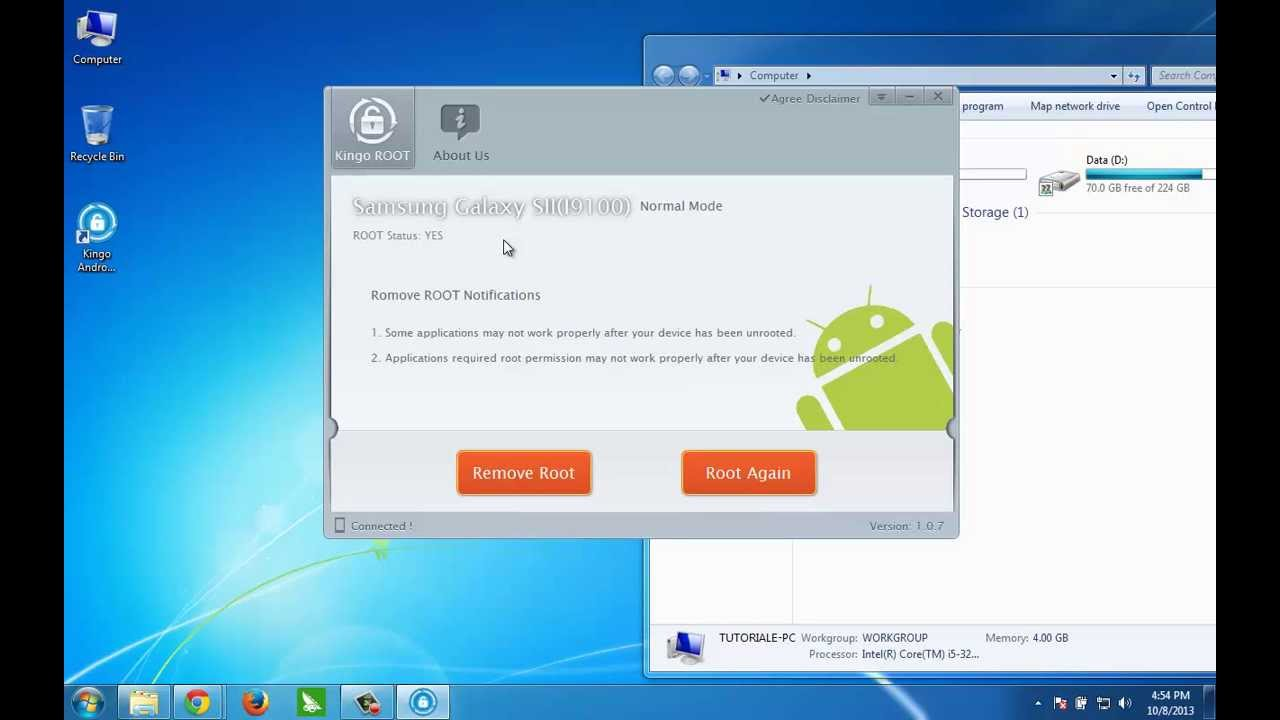 root pc android