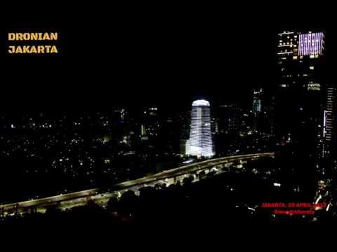 Gedung tertinggi di jakarta Gamma Tower Xiaomi mi drone 1080p jakarta indonesia