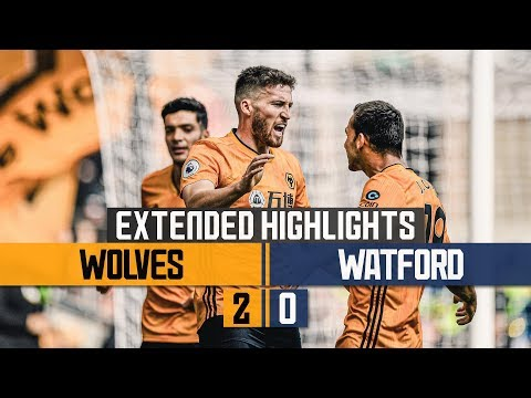 Wolves See Off The Hornets For First Premier League Win. Wolves 2-0 Watford | Extended Highlights