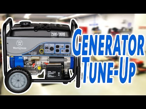 How to do a Generator Tune Up and Oil Change