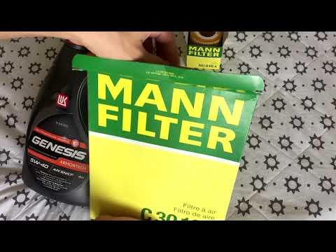 Масло LUKOIL в BMW... и фильтры MANN FILTER . Комплект для замены масла