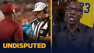 NFL pass interference replay system last year was egregious and rushed - Shannon | NFL | UNDISPUTED