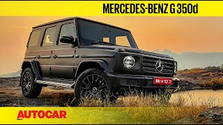 Mercedes-Benz G 350d Review - The Sensible G Wagen | First Drive | Autocar India