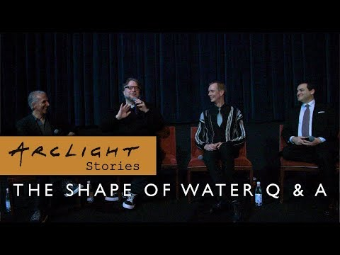 Shape of Water Q&A with Guillermo del Toro, Doug Jones, & Michael Stuhlbarg